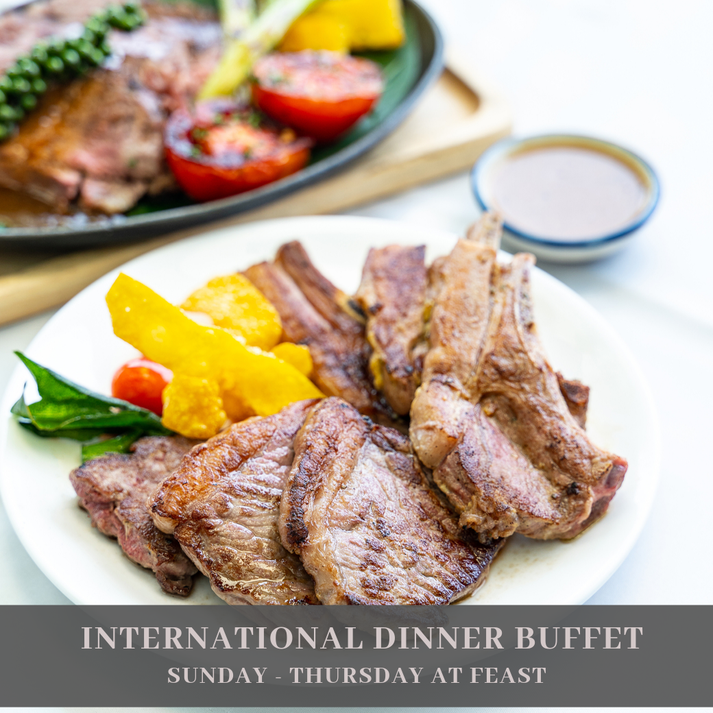 International Dinner Buffet (Sun - Thu)