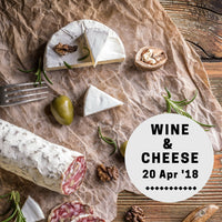 Wine & Cheese (20 Apr)
