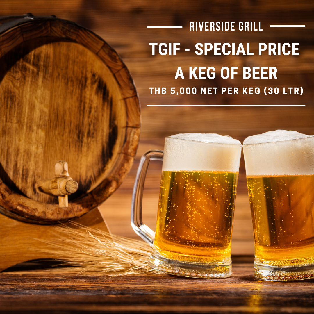 Riverside Grill - TGIF Special Price Keg of Beer