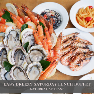EASY BREEZY SATURDAY LUNCH BUFFET