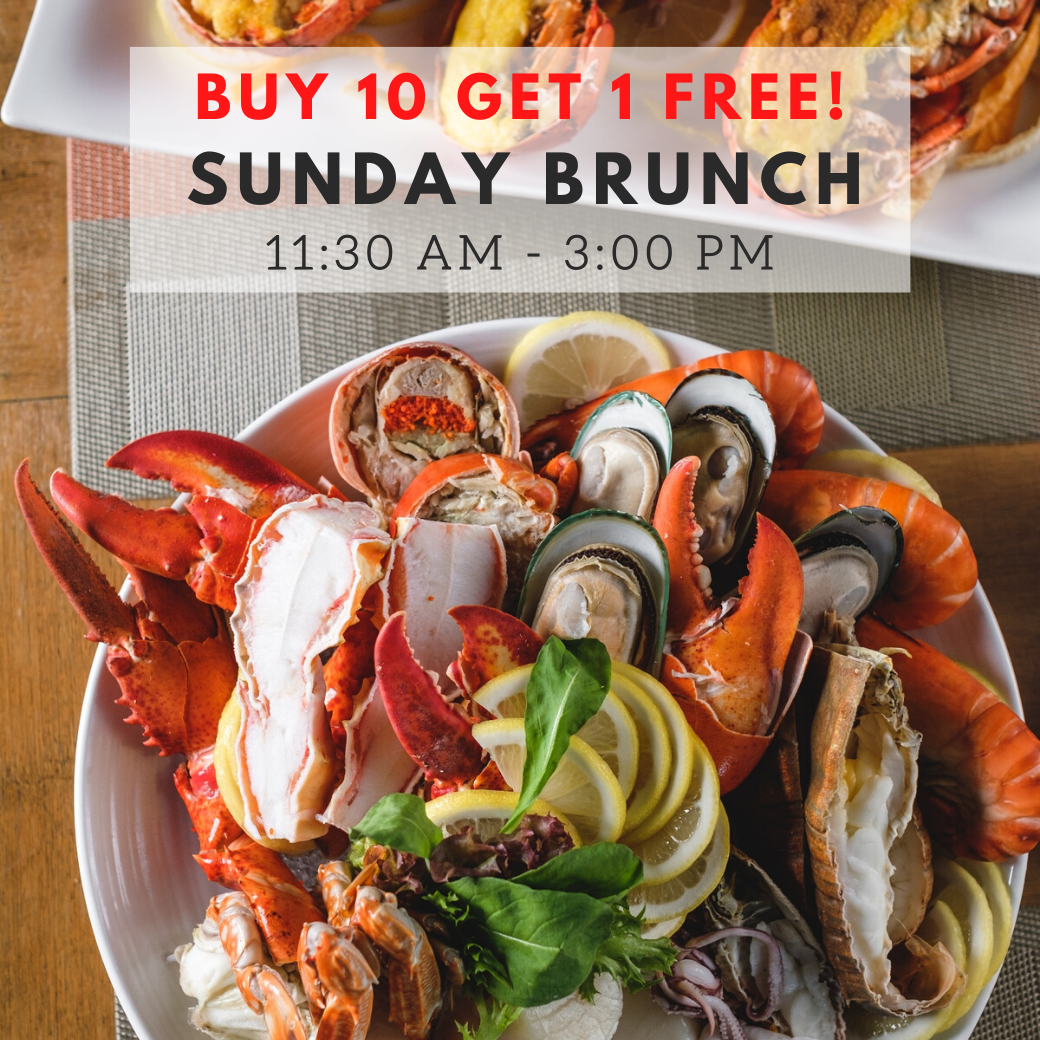 (Buy 10 Get 1 Free) Sunday Brunch