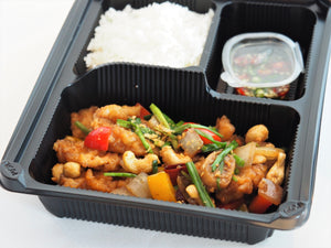 Stir-fried chicken with cashew nuts
