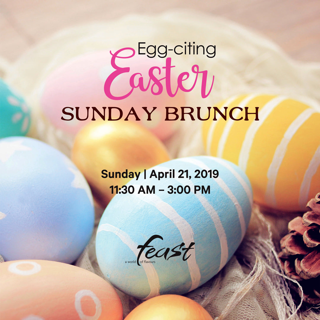 Easter Sunday Brunch (21 Apr 19)