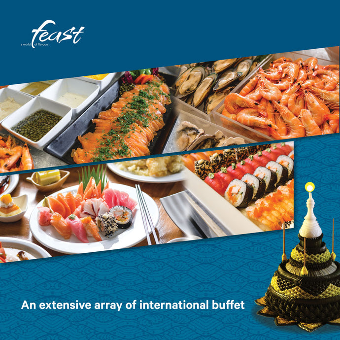 International Buffet on 22 Nov.