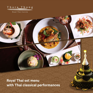 Royal Thai Set Menu on 22 Nov.