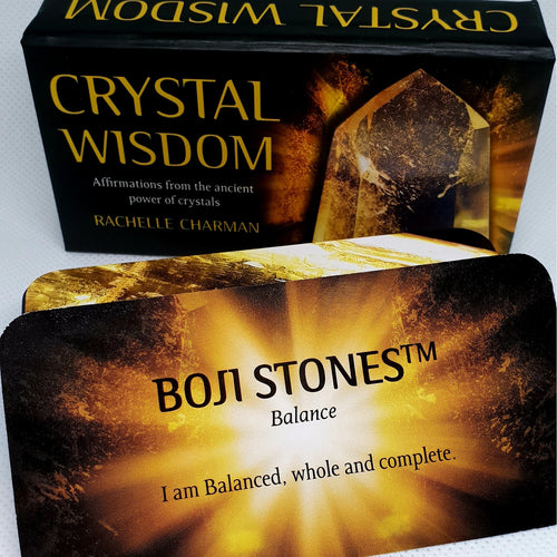 Crystal Wisdom Inspirational Cards