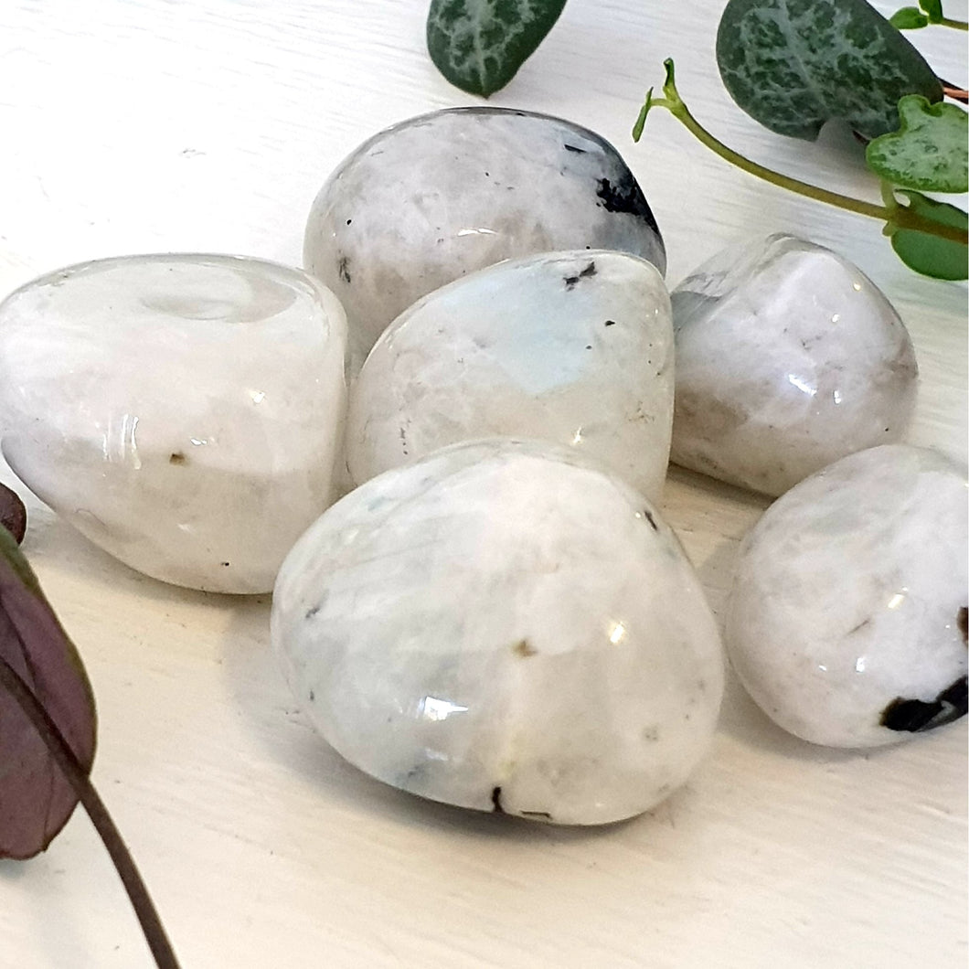 Moonstone Rainbow - Tumbled