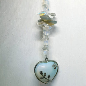 Sun Catchers - Heart (Opalite)