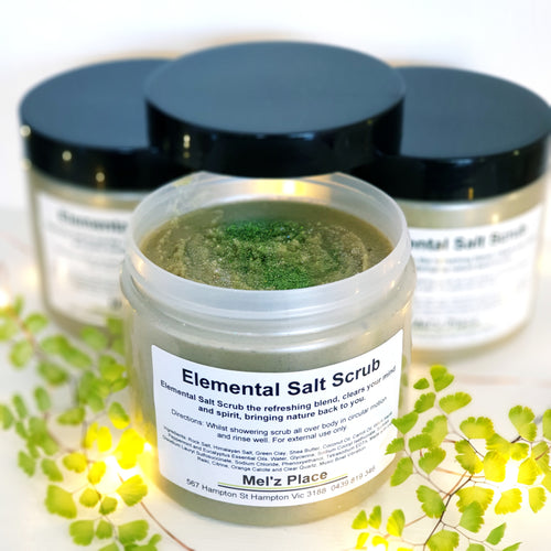Elemental Salt Scrub