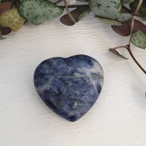 Sodalite - 30mm Heart