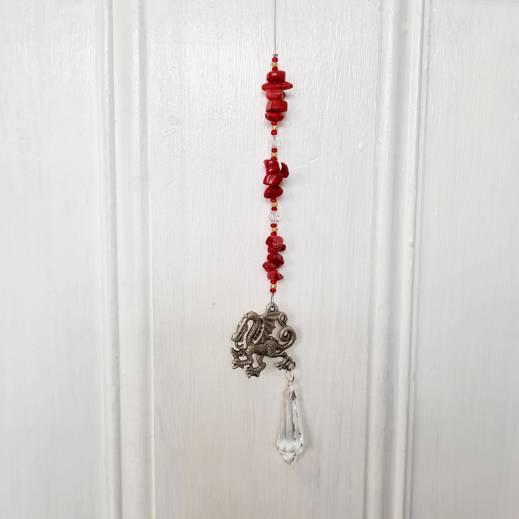 Sun Catchers - Chinese Dragon Red Jasper