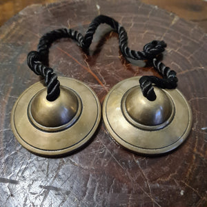 Brass Tingsha Cymbals 5cm
