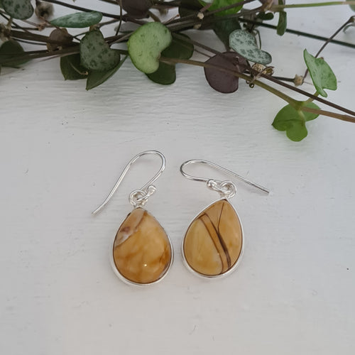 Brecciated Mookaite Earrings