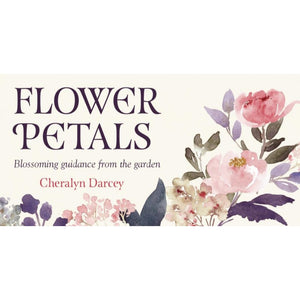 Flower Petals Inspirational Cards