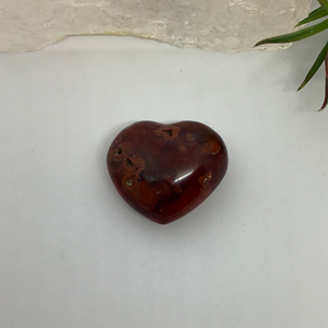 Agate Red  - Heart