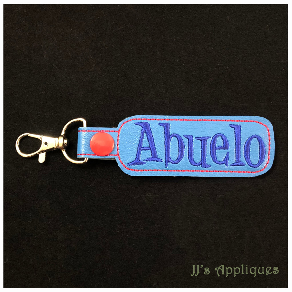 Snap On Abuelo Key Fob