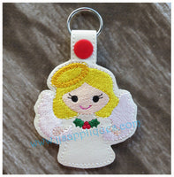 Snap On Angel Key Fob