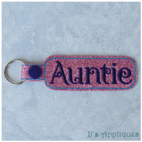 Snap On Auntie Key Fob