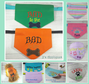 Bad to the Bone Doggie Bandana