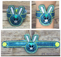 Flashing Bunny Boy Face Bracelet
