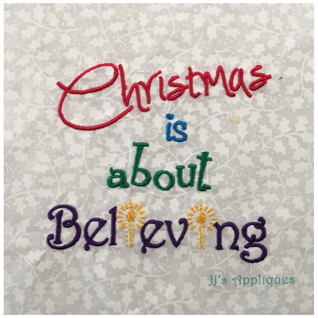 Christmas Believing