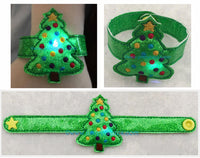 Flashing Christmas Tree Bracelet