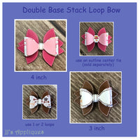 Double Base Stack Loop Bows