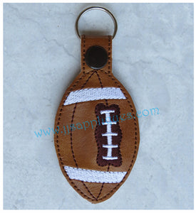 Snap On Football Key Fob