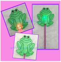 Flashing Frog Wand