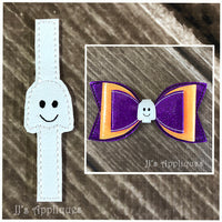 Ghost Bow Center Tie
