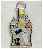 Snap On Haunted House Key Fob