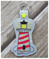 Snap On Lighthouse Key Fob