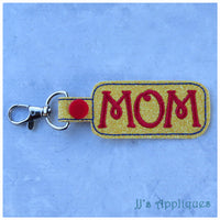 Snap On Mom 2 Key Fob