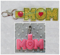Mom and Dad Set of 6 Key Fobs