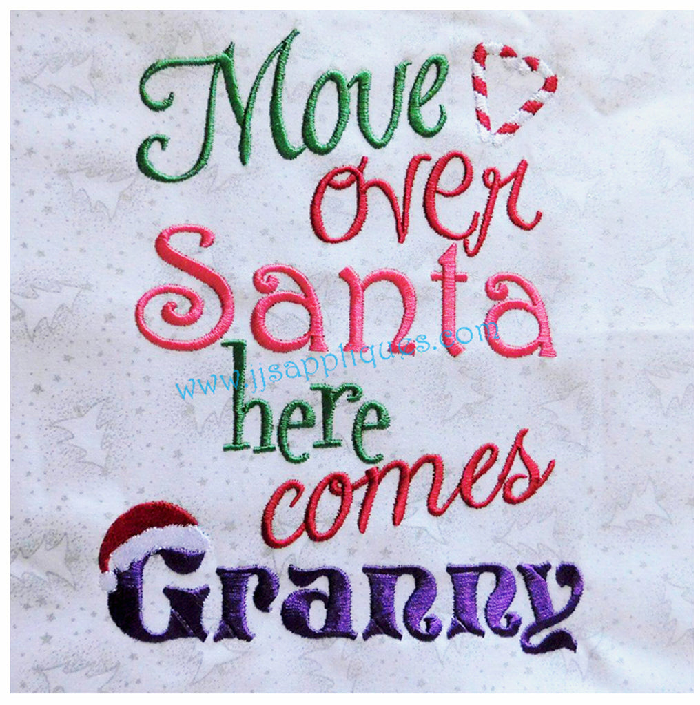 Move Over Santa Here Comes Granny