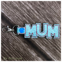 Snap On Mum Key Fob