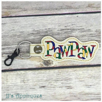 Snap On PawPaw Key Fob