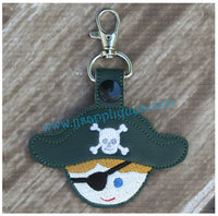 Snap On Pirate Key Fob