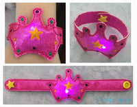 Flashing Princess Crown Bracelet