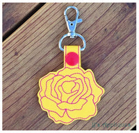 Snap On Rose Key Fob