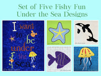 Under the Sea Set of 5 Designs