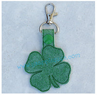 Snap On 4 Leaf Clover Key Fob