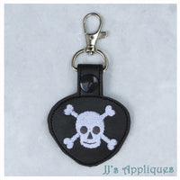 Snap On Skull Key Fob