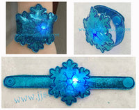 Flashing Snowflake Bracelet