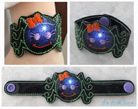 Flashing Girl Spider Bracelet