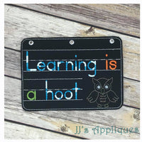 Learning is a Hoot Tablet Cover & Zipper Pouch Set