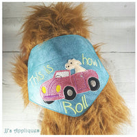 This is How I Roll Doggie Bandana