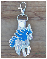 Snap On Unicorn Key Fob
