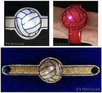 Flashing Volleyball Bracelet