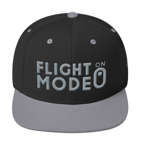 Snapback Hat - Flight Mode